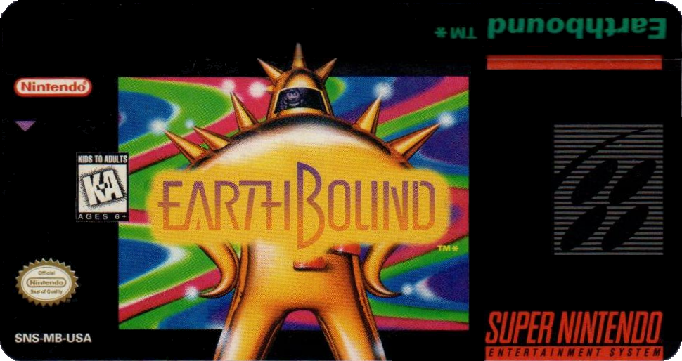Earthbound Label Reprinting EarthBound MOTHER 2